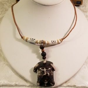 Men or women Bohemian style Turtle necklace